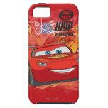 Relámpago McQueen - campeón de la taza del pistón iPhone 5 Protectores