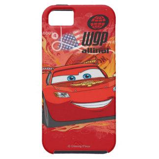Relámpago McQueen - campeón de la taza del pistón iPhone 5 Carcasas