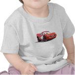 Relámpago McQueen Disney de los coches Camisetas