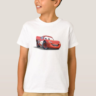 Relámpago McQueen Disney de los coches Playera