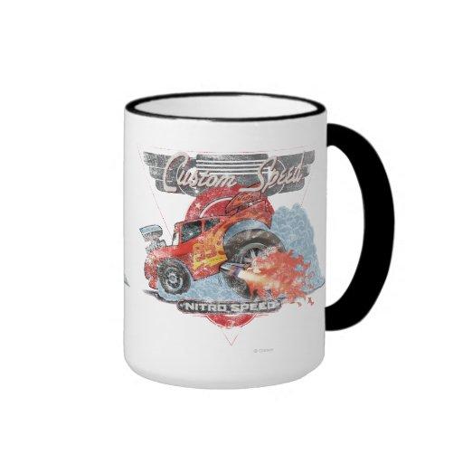 Relámpago McQueen - velocidad de encargo Taza