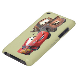 Relámpago McQueen y Mater Barely There iPod Fundas