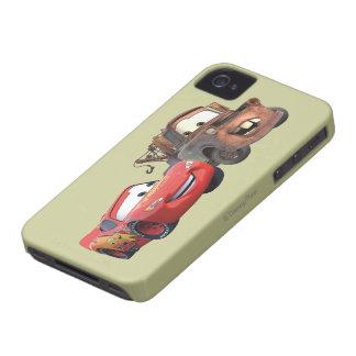 Relámpago McQueen y Mater iPhone 4 Case-Mate Cobertura