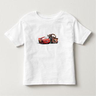 Relámpago McQueen y remolque Mater Disney Playera De Niño