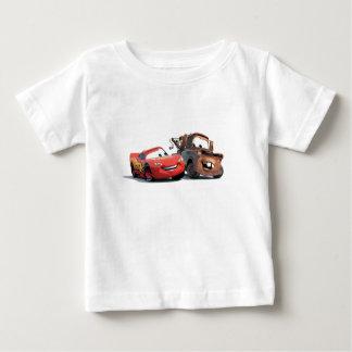 Relámpago McQueen y remolque Mater Disney Playeras