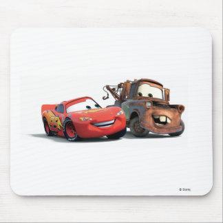 Relámpago McQueen y remolque Mater Disney Alfombrilla De Raton