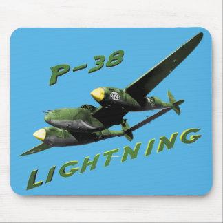Relámpago P-38 Alfombrilla De Ratones