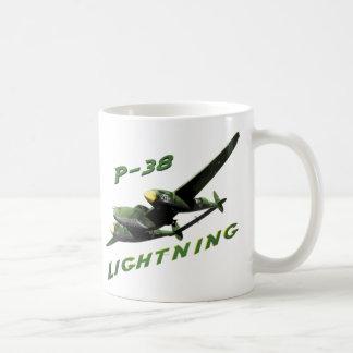 Relámpago P-38 Taza Clásica