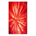 relámpago rojo plantillas de tarjetas de visita