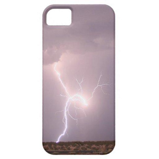 Relámpago sobre el caso de IWV iPhone 5 Carcasas