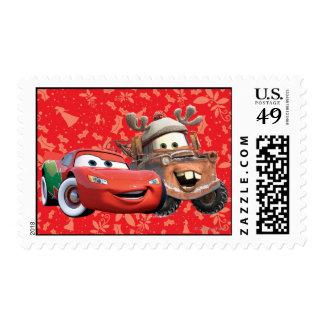 Relámpago y Mater Timbre Postal