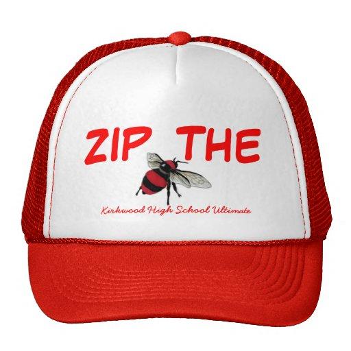 Relampague el último gorra del camionero de la abe