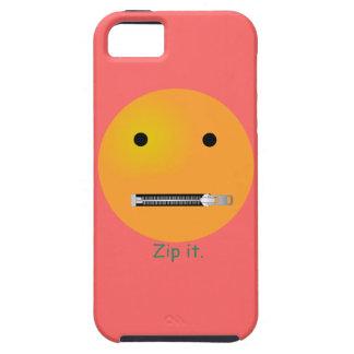 Relampagúelo Emoticon sonriente de la cara Funda Para iPhone SE/5/5s