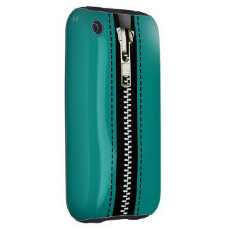 Relampagúelo encima del plástico duro surrealista tough iPhone 3 protector