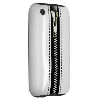 Relampagúelo encima del plástico duro surrealista tough iPhone 3 protectores