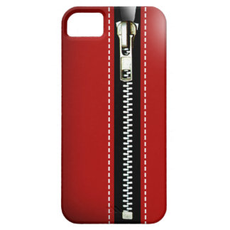 Relampagúelo para arriba - Trompe - l ' rojo del iPhone 5 Funda
