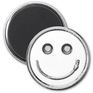 Relampagúelo - smiley (la curva) imán redondo 5 cm