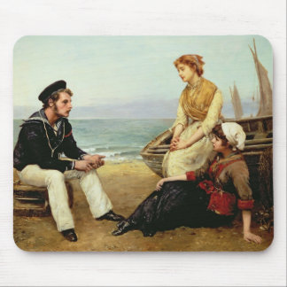 Relating his Adventures, 1881 Mouse Pad