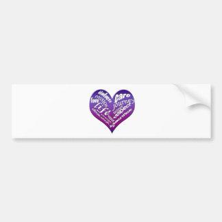 Relationship Elements Bumper Sticker