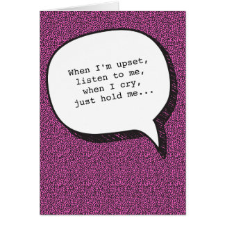 Relationship Instructions Funny Greeting Card