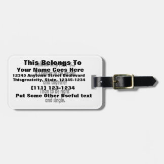 relationship rule 15.2 better to be wrong luggage tag