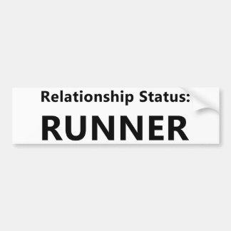Relationship Status Bumper Sticker