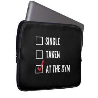 Relationship Status Gym Computer Sleeve