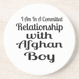 Relationship With Afghan Boy Drink Coaster