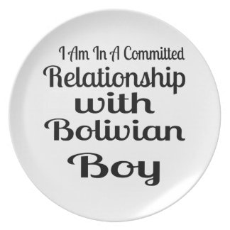 Relationship With Bolivian Boy Plate