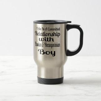 Relationship With Bosnian & Herzegovinian Boy Travel Mug