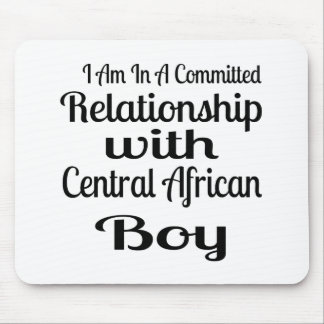 Relationship With Central African Boy Mouse Pad