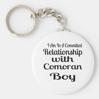 Relationship With Comoran Boy Keychain