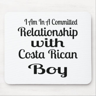 Relationship With Costa Rican Boy Mouse Pad