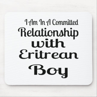 Relationship With Eritrean Boy Mouse Pad