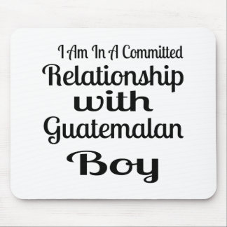 Relationship With Guatemalan Boy Mouse Pad