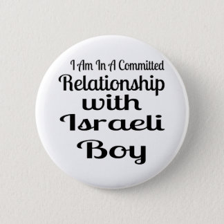 Relationship With Israeli Boy Pinback Button