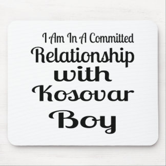 Relationship With Kosovar Boy Mouse Pad