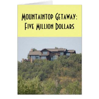 Relationships/Dating -  Mountaintop Getaway ... Card