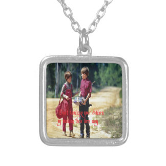 Relationships Silver Plated Necklace