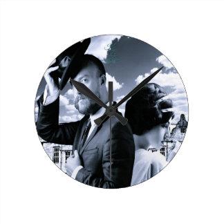 Relative Deceit Medium Wall Clock