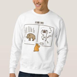 """< """"Relative (discernment)"""" color > Lighten (color) Sweatshirt"""