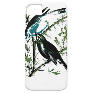 Relative Wild Birds Swaysland Linnets woodcut Inte iPhone SE/5/5s Case