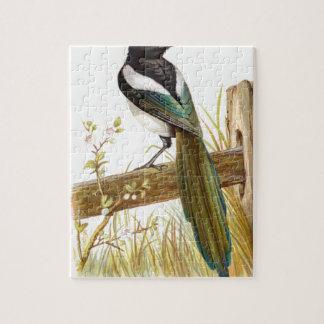 Relative Wild Birds Swaysland Magpie Jigsaw Puzzle