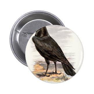 Relative Wild Birds Swaysland Raven Button