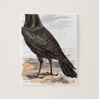 Relative Wild Birds Swaysland Raven Jigsaw Puzzle