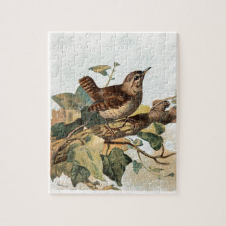 Relative Wild Birds Swaysland Wren Jigsaw Puzzle