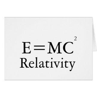 Relatividad: Feliz cumpleaños Tarjeta De Felicitación