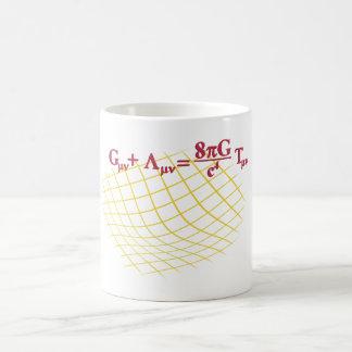 Relatividad general tazas de café