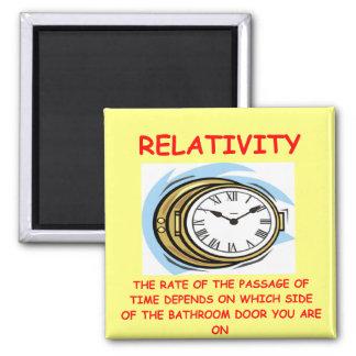 relatividad imanes para frigoríficos