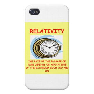 relatividad iPhone 4 carcasas
